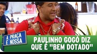 """Download Video A Praça É Nossa (17/09/15) - Paulinho Gogó diz que é """"bem dotado"""" e nem consegue andar MP3 3GP MP4"""