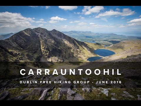 Carrauntoohil - Dublin Free Hiking Group - June 2016