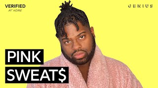 """Pink Sweat$ """"At My Worst"""" Official Lyrics & Meaning 