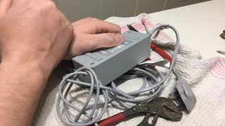 Nintendo wii power supply scrap out