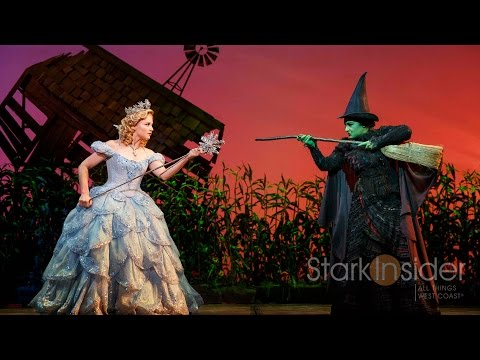 Broadway Backstage: WICKED Bubble Flight with Glinda