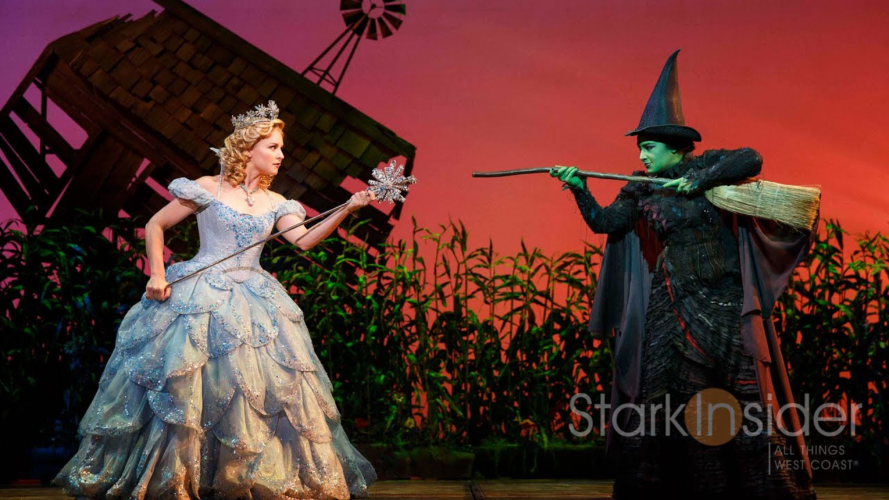 Broadway Backstage Wicked Bubble Flight With Glinda Youtube