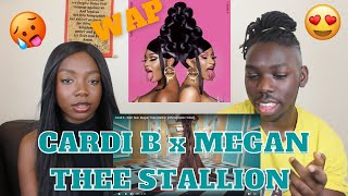 Cardi B - WAP feat. Megan Thee Stallion [Official Music Video] - REACTION