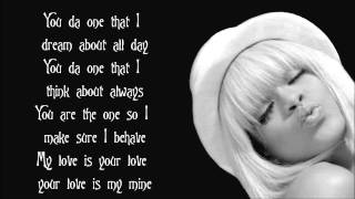Rihanna - You Da One Lyrics Video