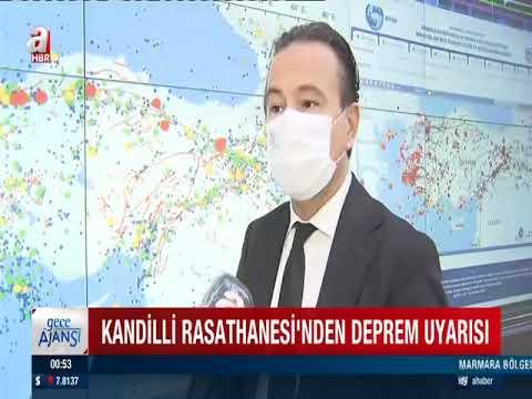 Kandilli Rasathanesi'nden deprem uyarısı