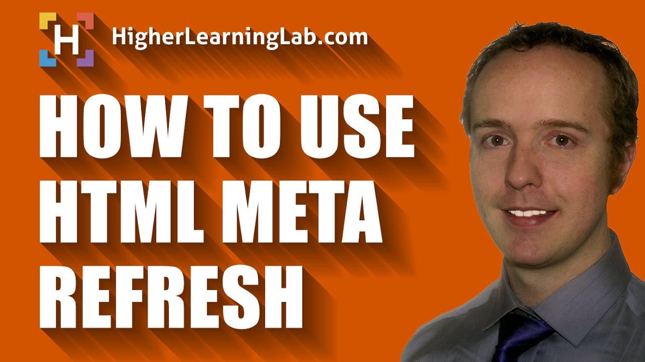 Use HTML Refresh To Refresh Or Redirect A Page