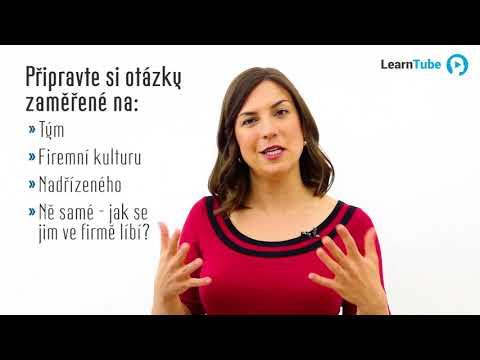 JAK SI NAJÍT SKVĚLOU PRÁCI - LEKCE 46: Pohovor s personalistou - Tereza Valášková