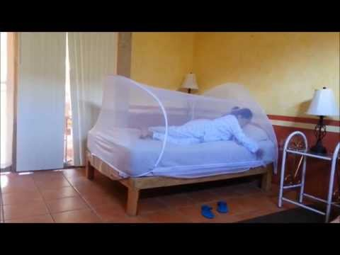 Mosquitera de viaje spider con gancho adhesivo spanish doovi - Mosquiteras para camas ...
