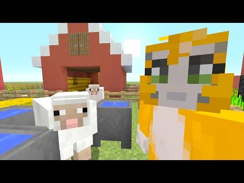 Minecraft Xbox - Building Time - Animal Farm {32}