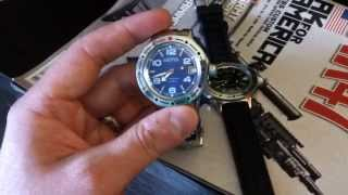 Vostok Amphibia Russian watch review