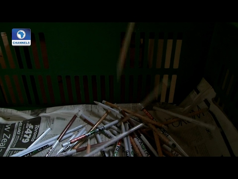 Eco@Africa: Producing Pencils From Recycled Newspaper