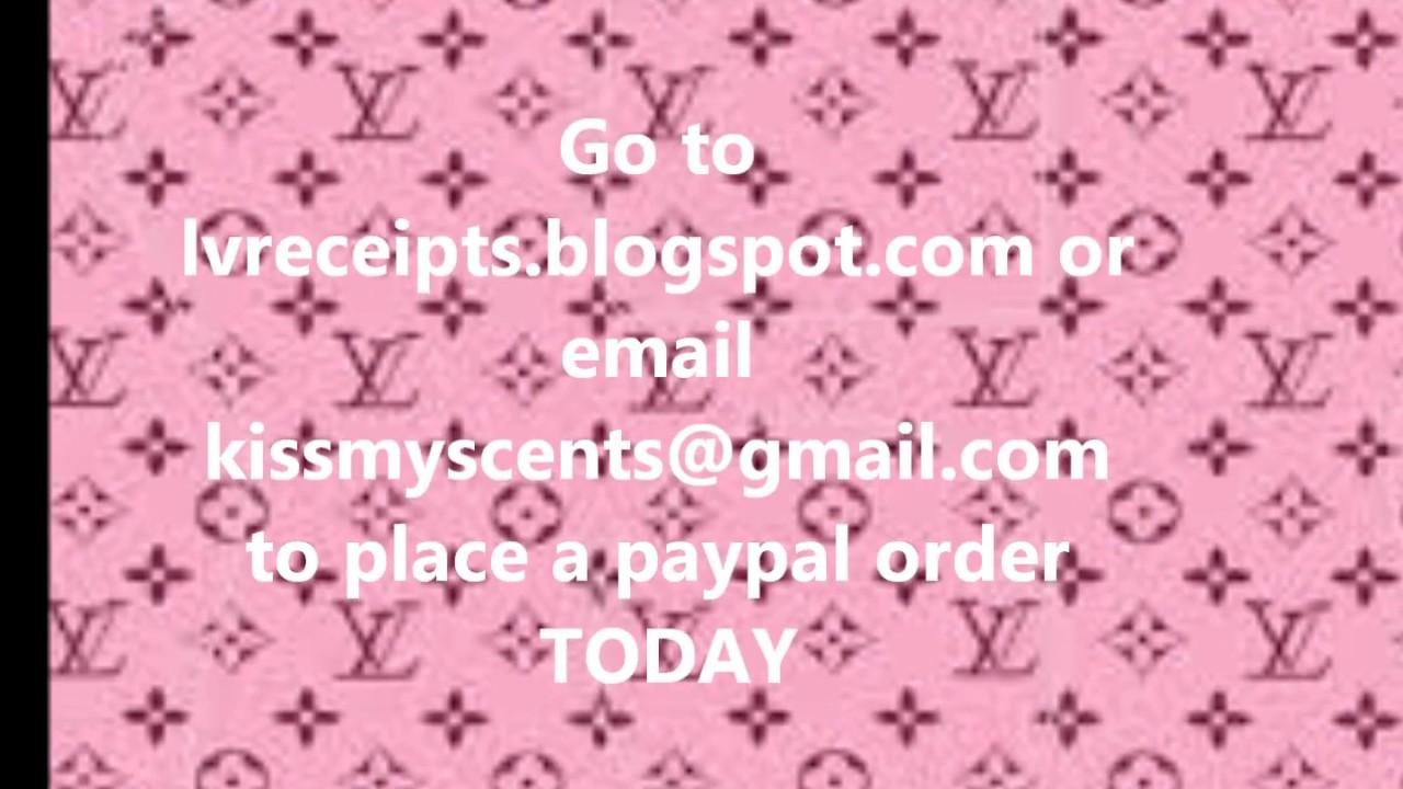Louis Vuitton Receipt Templates PSD PDF AVAILABLE NOW YouTube - Make a free invoice pdf online louis vuitton online store