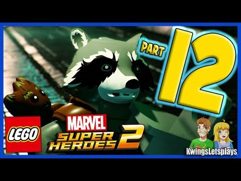 Lego Marvel Super Heroes 2 Walkthrough Part 12 Kree Search and Development