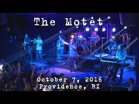 The Motet: 2016-10-07 - Fête Music Hall; Providence, RI [4K]