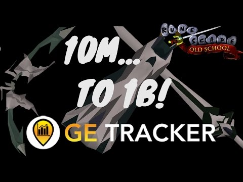 OSRS 10M to 1B with GE Tracker | The Beginning EP.0