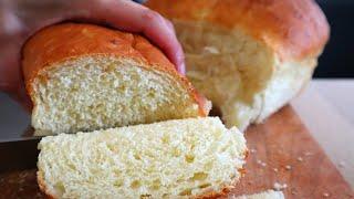 Домашний хлеб, простой рецепт на кефире!