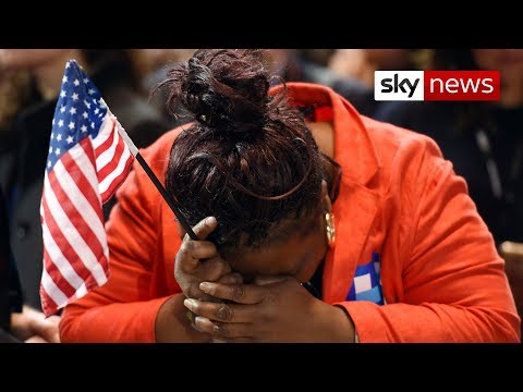 US election 2016: How voters reacted to the incredible result