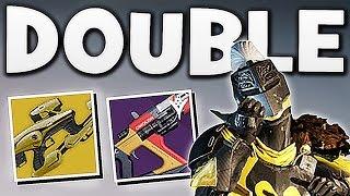 Destiny - DOUBLE FUSION RIFLE PVP !!