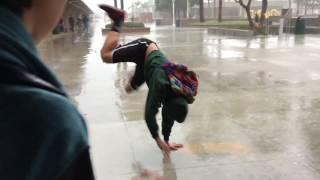 Idiot Dances In a Storm at SCHOOL!