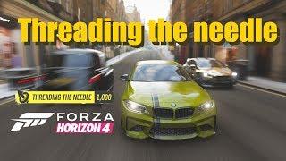 Threading the needle skill in Forza Horizon 4