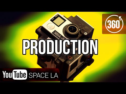 How To Shoot 360° Video! | Production | YouTube Space LA