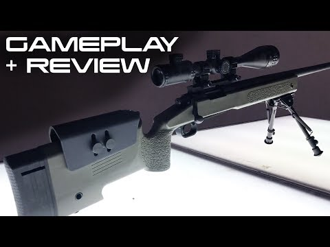 ASG M40A3 Proline Gameplay and Review - Swamp Sniper