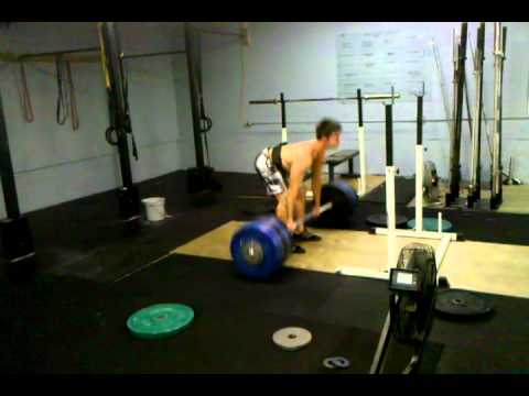 Erik Fay pulling 500s at a bodyweight of 182s