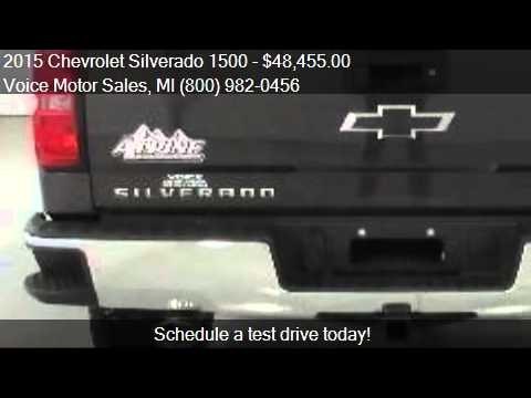 2015 chevrolet silverado 1500 2lt z71 4x4 alpine edition for Voice motors kalkaska michigan
