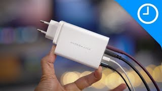Hands-on: HyperJuice 4-port 100W USB-C Charger - super-handy for travelers!