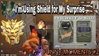 TROLLING ENEMIES WITH NEW RIOT SHIELD LOL ! EPIC ENDING / Rules Of Survival -Quack GP - MUST WATCH !