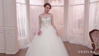 Пышное свадебное платье 2016 года от VESILNA™ модель 3003