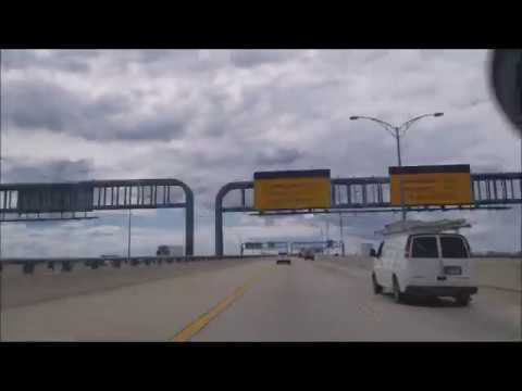 4K Driving From New York City to Orlando, Florida Timelapse on the i95 Intersate 95  🚗 1,000+ miles!