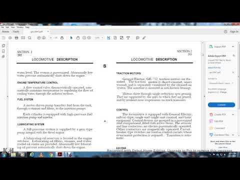 DIESEL ENIGNE MECHANICAL SERVICE MANUAL DIESEL ELECTRIC LOCOMOTIVE GE PART1