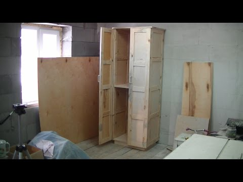 видео: Шкаф с филёнками из фанеры своими руками. Часть 2