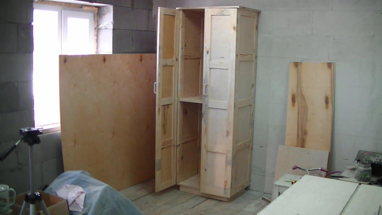 Двери для шкафа-купе своими руками: инструкция от мастера