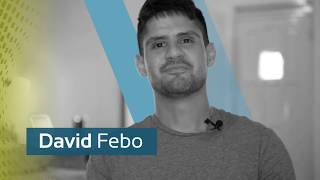 Meet David Febo a second semester student at UHSA
