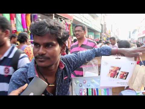 World thickest crowded street...Ranganathan Street...Chennai