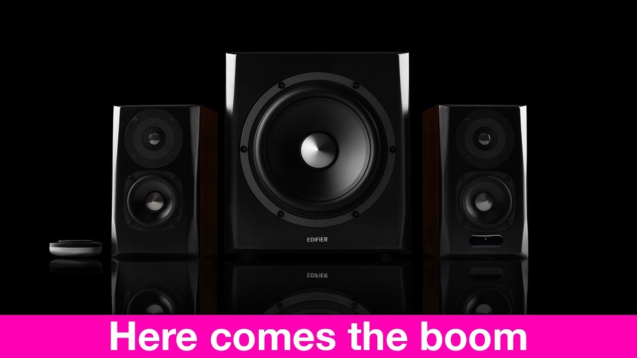 Edifier S350DB Bookshelf Speakers REVIEW With Subwoofer