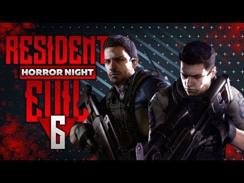 Стрим Resident Evil 6 Кооп прохождение на русском #1 Хоррор найт – Horror Night