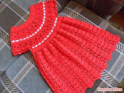 Crochet Baby Dress Free Crochet Patterns 510 Youtube