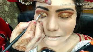 Latest Indian Bridal MakeUp krylon Base Tutorial In Hindi