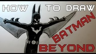 Ep. 112 How to draw Batman Beyond + Special Secret to Improve!