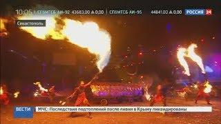 """Первый день байк-шоу """"Русский реактор"""" в Крыму 18 августа"""