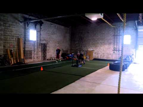 Equity Strength & Conditioning - Sled EMOM
