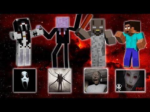 Monster School: ALL HORROR EPISODE - Minecraft Animation
