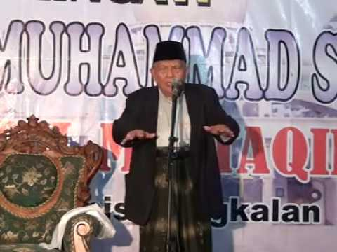 Maulid Nabi NUHAMMAD SAW  OLEH KH Syukron Makmun MASJID BAITUL MUTTAQIN Dabang Bulung 05. 07 12 2016