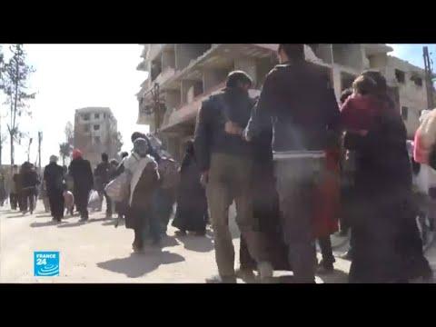 الأسد يزور الغوطة الشرقية والنزوح مستمر  - نشر قبل 56 دقيقة