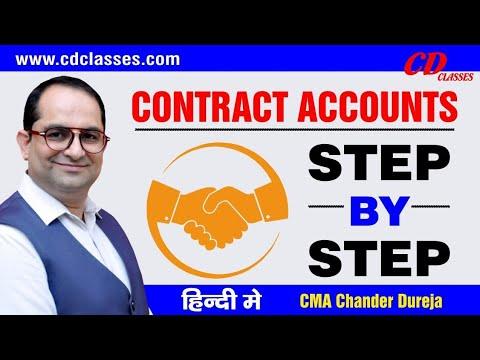 Contract   Accounts BY Chander Dureja