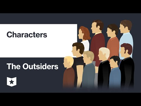 The Outsiders By S. E. Hinton | Characters
