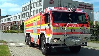 Ostrava fire dept. engine & tanker responding | Ostrava HZS CAS 20 & CAS 30 - S3VH [CZ | 3.6.2015]